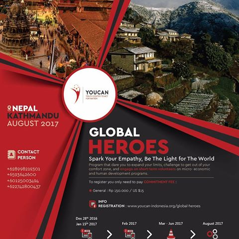 Global Heroes Programme, YOUCAN INDONESIA, NGO, NGO in Nepal, Non-governmental organization, Non-profitable organization, YPDSN, Young Professional Development Society Nepal, Non-governmental organization in Nepal, Best NGO in Nepal, Non-profitable organization in Nepal, Women Empowerment, Social & Economic advancement, Health, Education